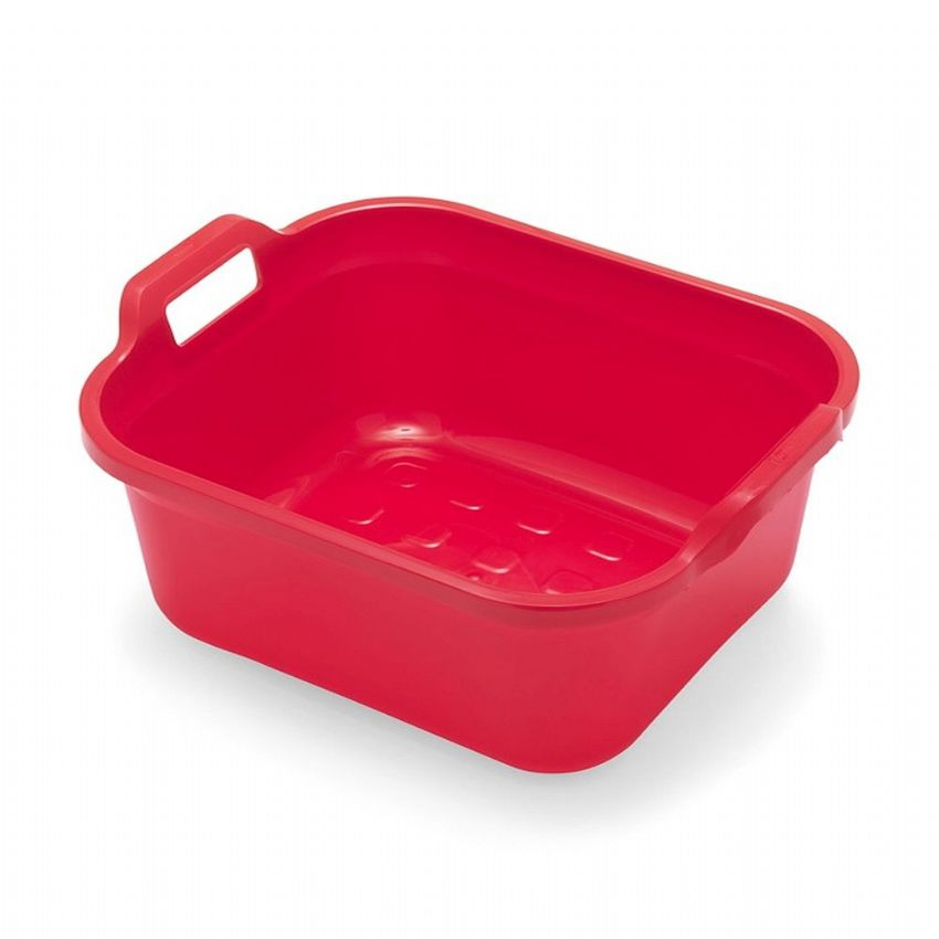 Addis Red Coloured Plastic Washing Up Bowl 32cm